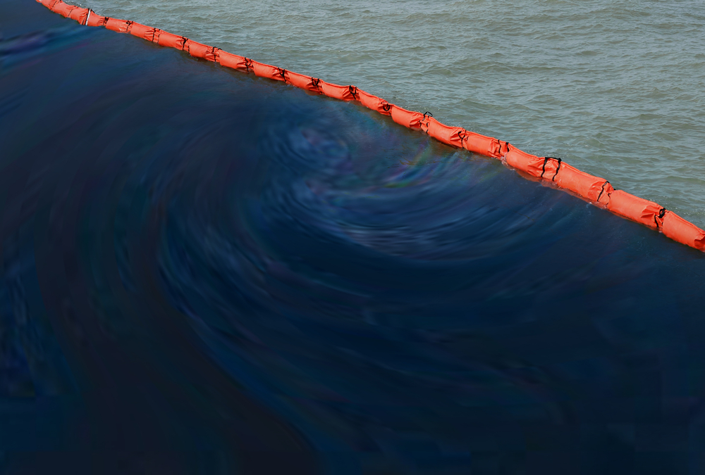 Containment Boom in Oil Spill Response