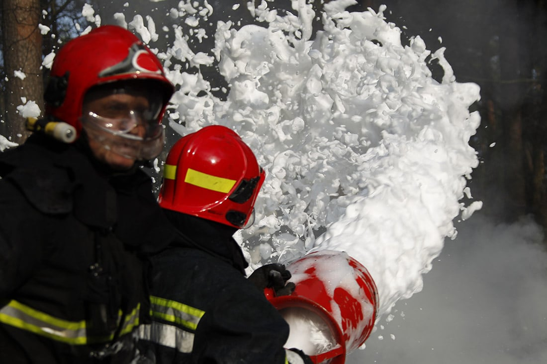 Firefighting foams, which are a primary source of PFAS pollution, are facing stricter regulations worldwide.